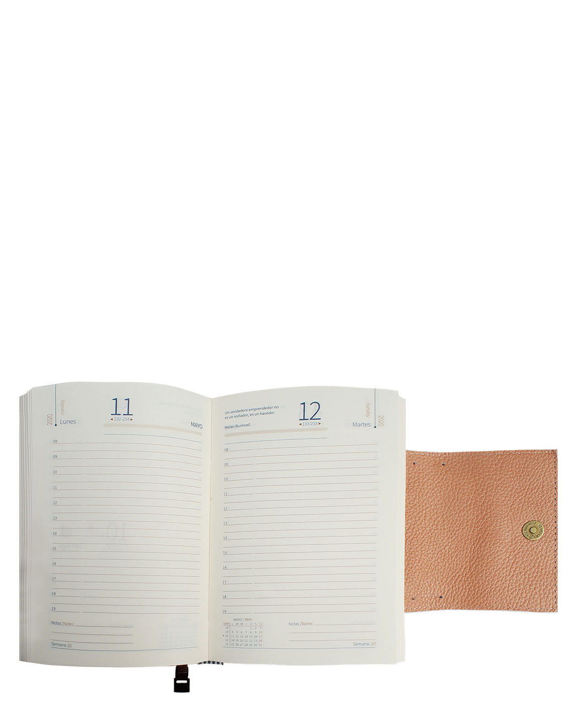 Agenda AG-121 Color Negro