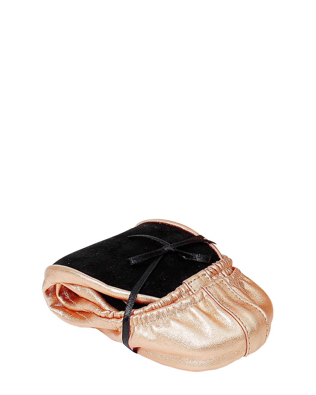 Ballerinas Roll Up (para interiores) PTF-0003 Color Cobre