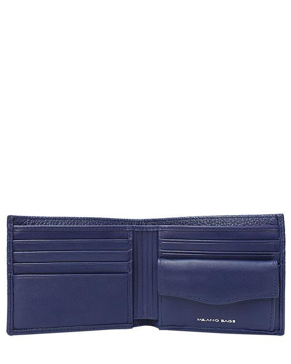 Billetera de Hombre BH-0007 Color Azul