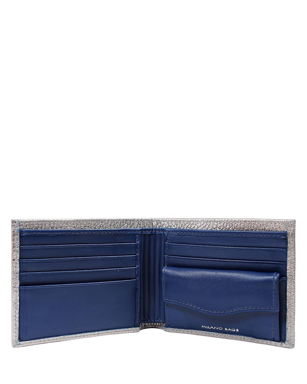 Billetera de Hombre BH-0007 Color Plata