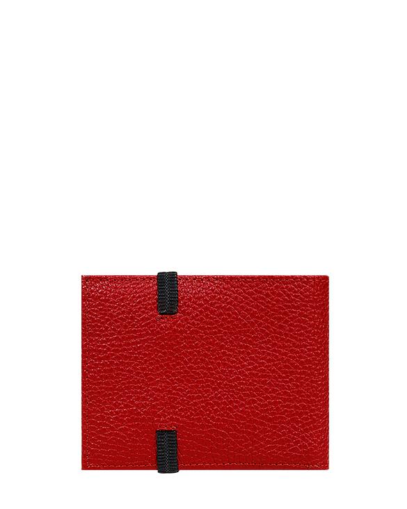 Billetera de Hombre BH-0102 Color Rojo