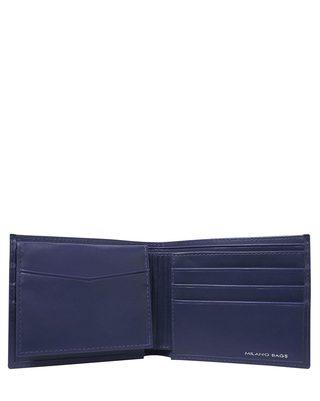 Billetera de Hombre BH-1 Color Azul