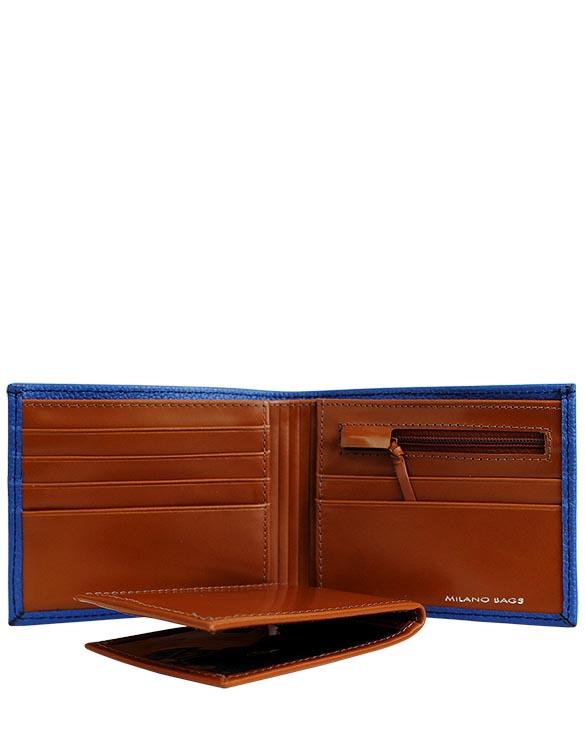 Billetera de Hombre BH-23 Color Azul