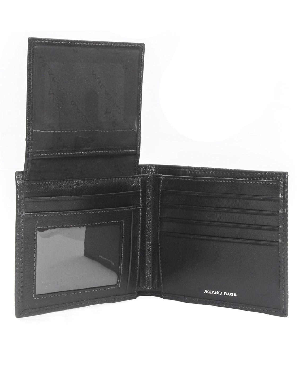 Billetera de Hombre BH-58 Color Negro