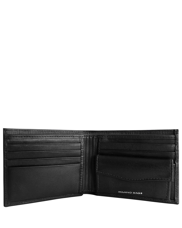 Billetera de Hombre BH-66 Color Negro