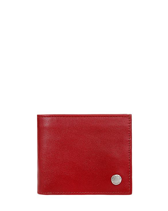 Billetera de Hombre BH-66 Color Rojo