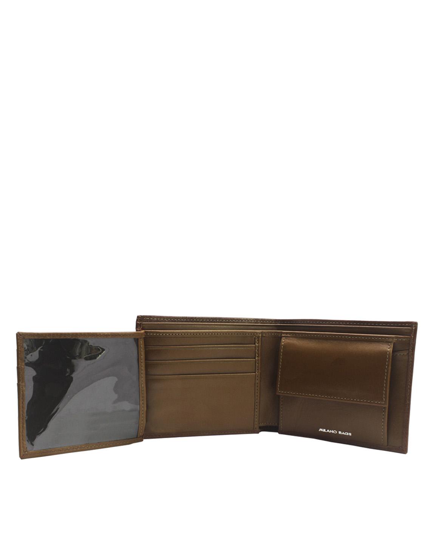 Billetera  de Hombre BH-75 Color Natural