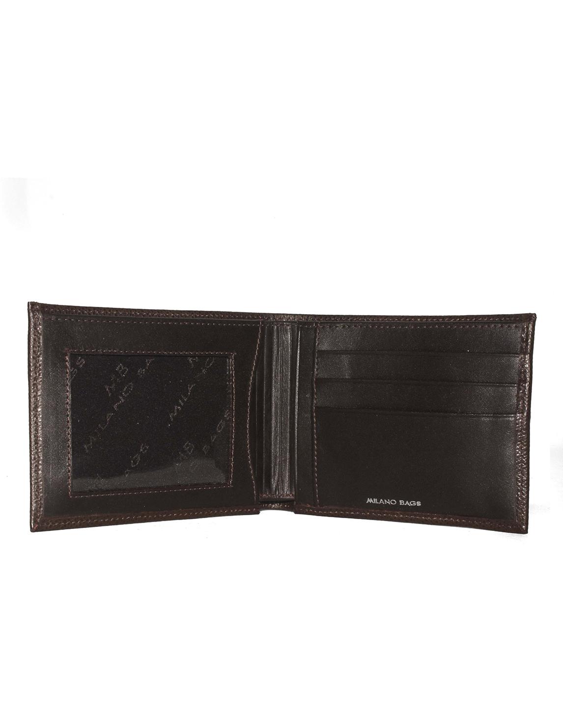 Billetera de Hombre BH-86 Color Marron