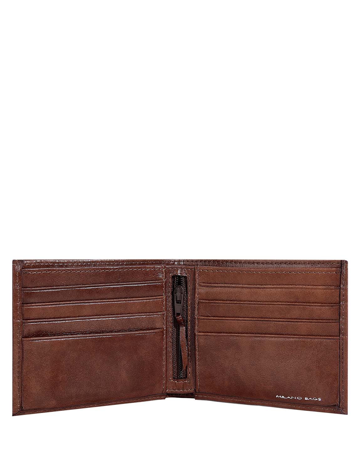 Billetera de Hombre BH-88 Color Marron