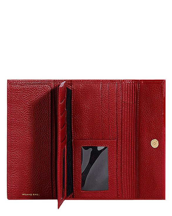 Billetera de Mujer BM-0070 Color Rojo