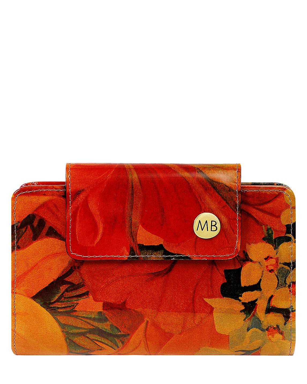 Billetera de Mujer BM-100 Color Naranja