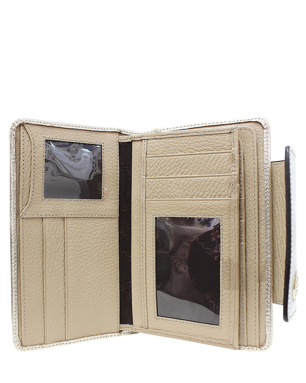 Billetera de Mujer BM-100 Color Oro