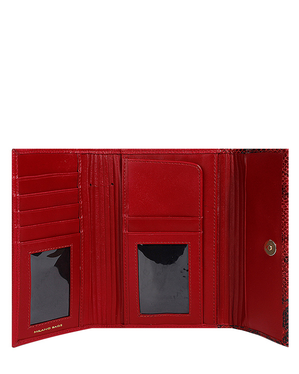 Billetera de Mujer BM-316 Color Rojo