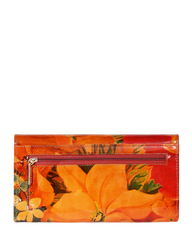 Billetera de Mujer BM-500 Color Naranja