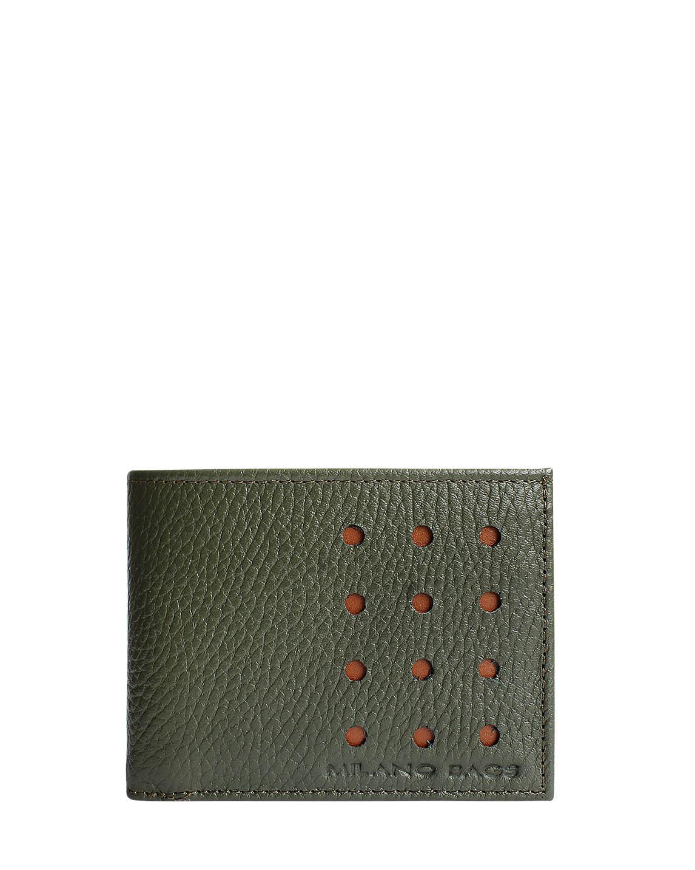 Billetera Hombre BH-101 Color Verde