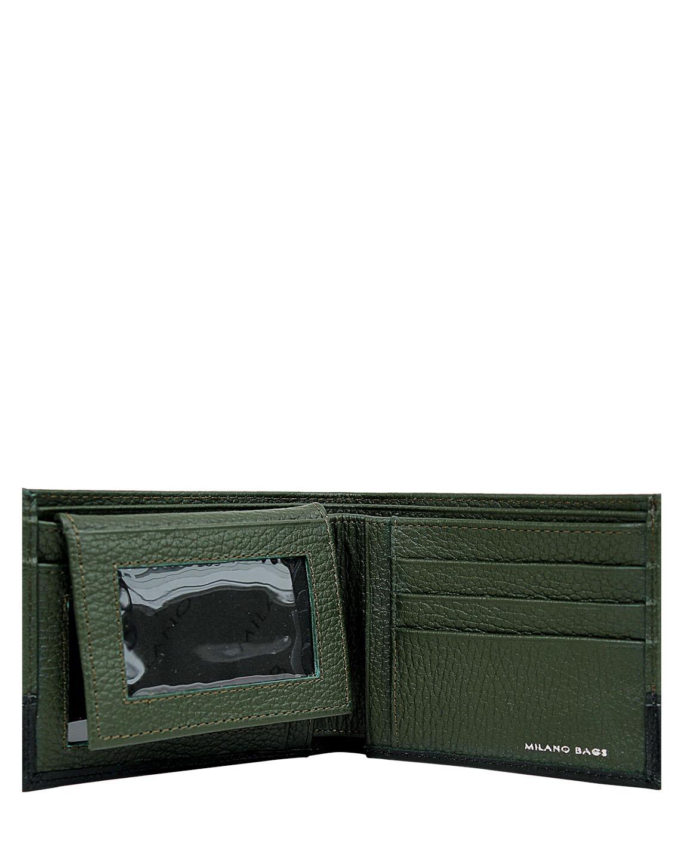 Billetera Hombre BH-94 Color Verde