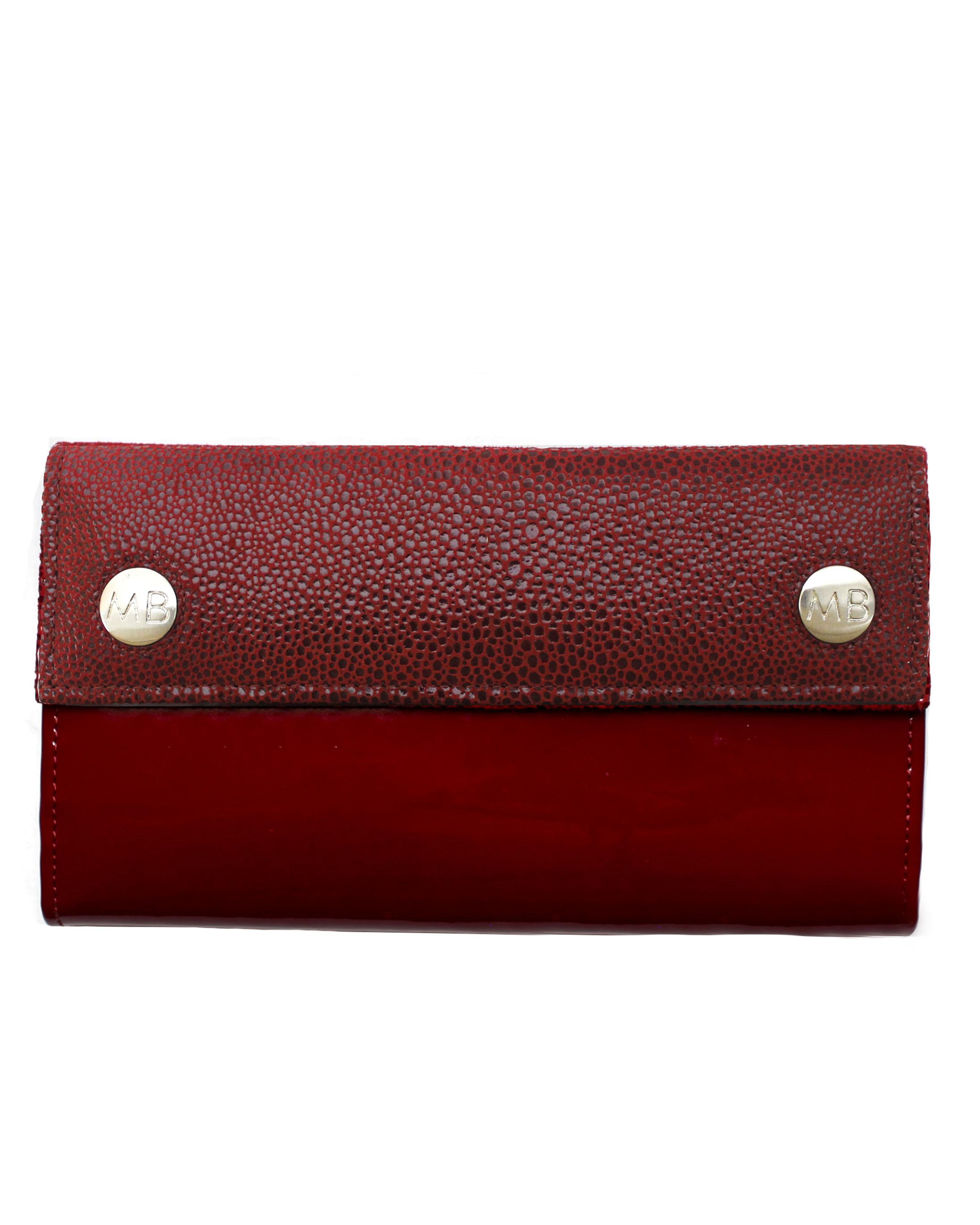 Billetera Mujer BM-0496 Color Rojo