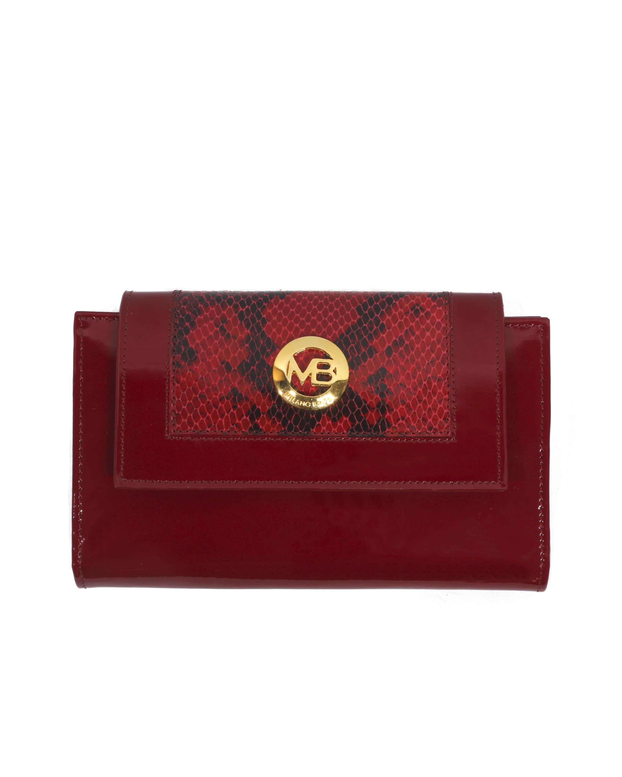 Billetera Mujer BM-0521 Color Rojo
