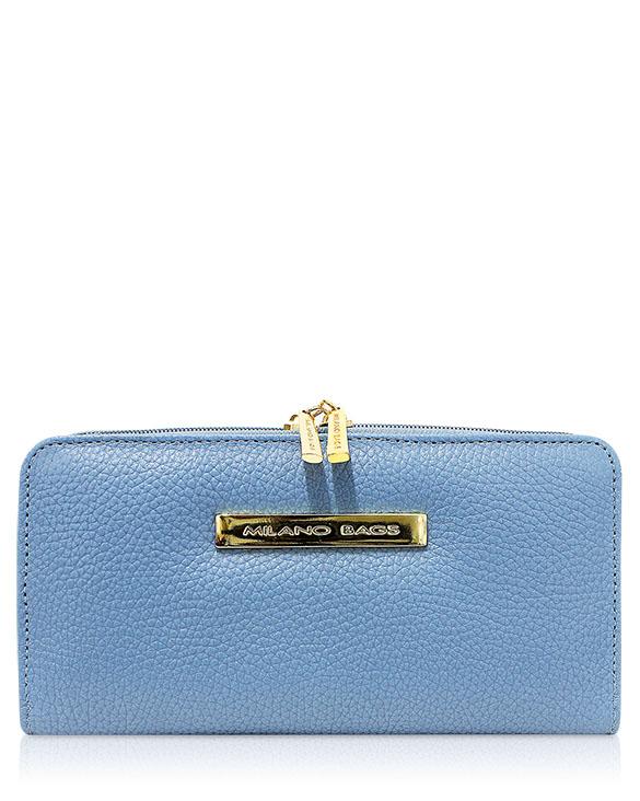 Billetera Mujer BM-0533 Color Celeste
