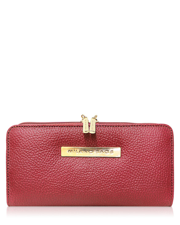 Billetera Mujer BM-0533 Color Rojo