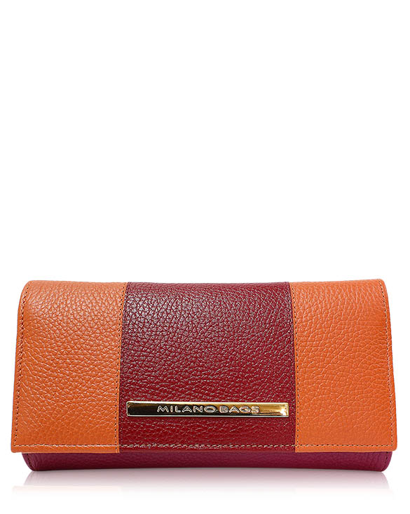 Billetera Mujer BM-0570 Color Naranja