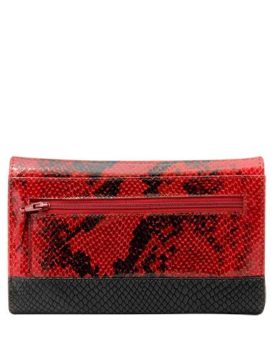 Billetera Mujer BM-357 Color Rojo