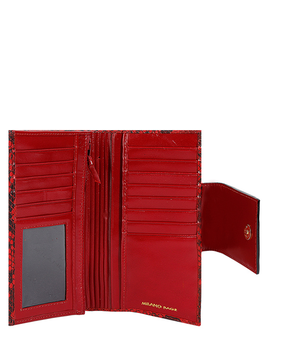 Billetera Mujer BM-480 Color Rojo