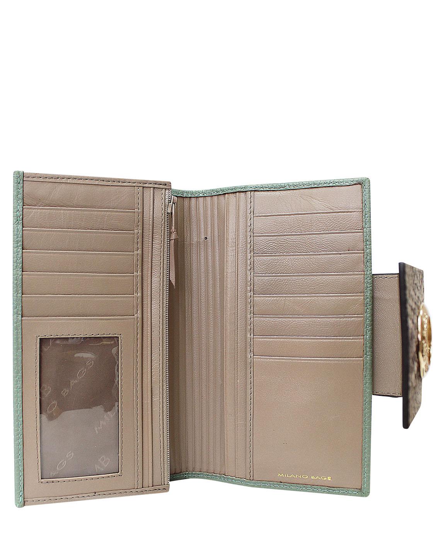 Billetera Mujer BM-480 Color Verde