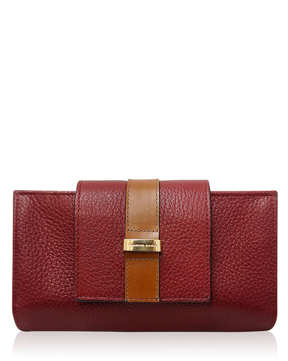 Billetera Mujer BM-489 Color Rojo