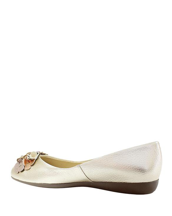 Calzado Ballerina FR-8944 Color Oro