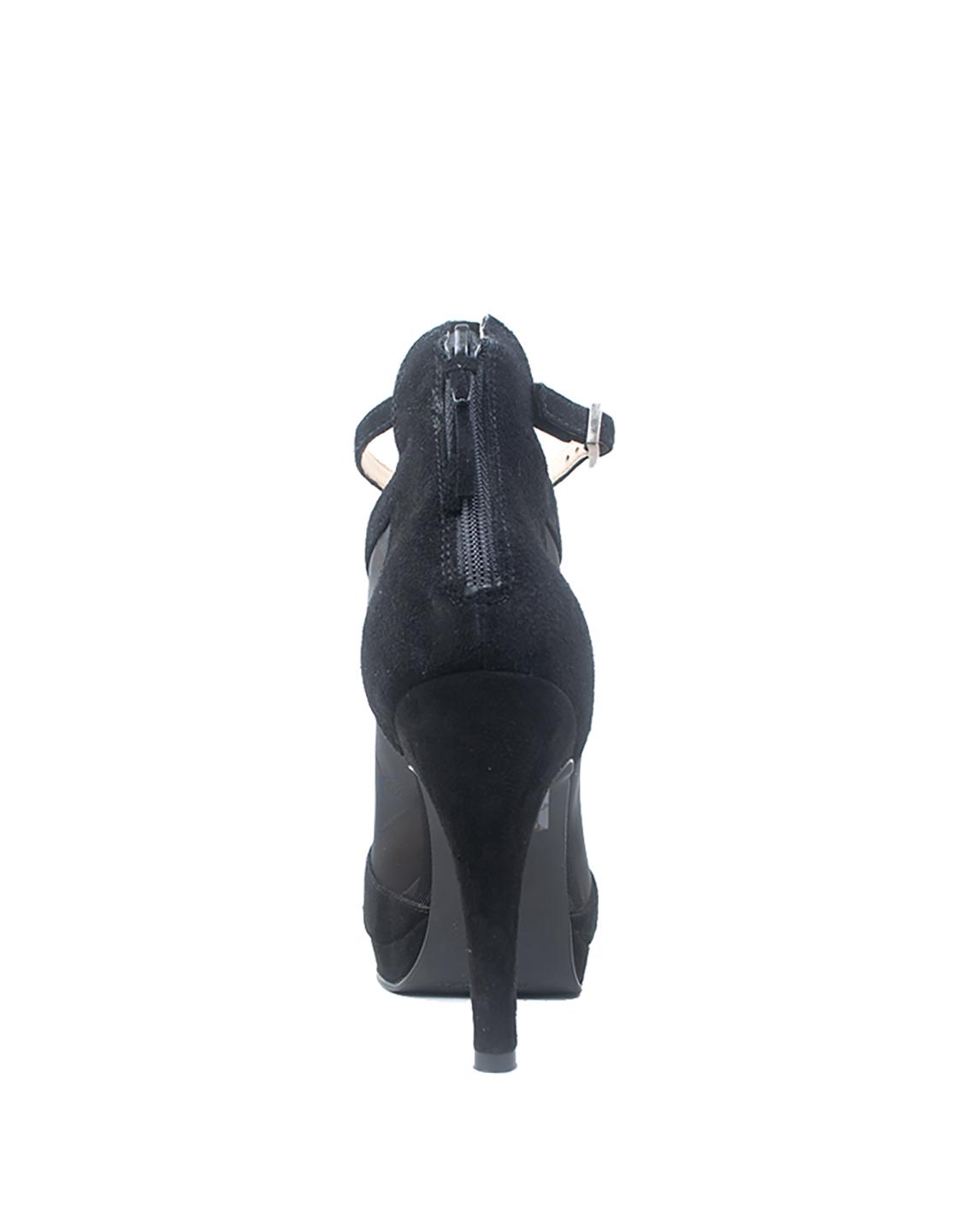 Calzado Bootie FBU-7883 Color Negro