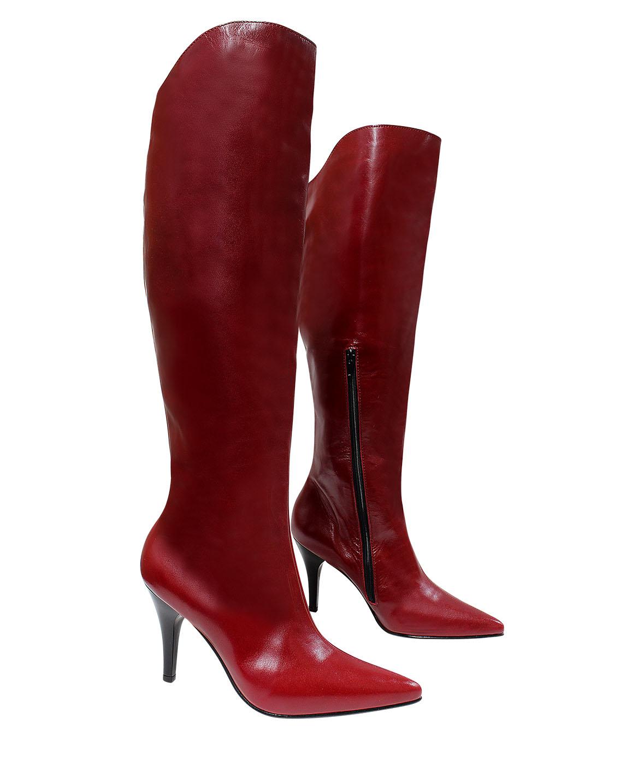 Calzado Bota FBT-8917 Color Rojo