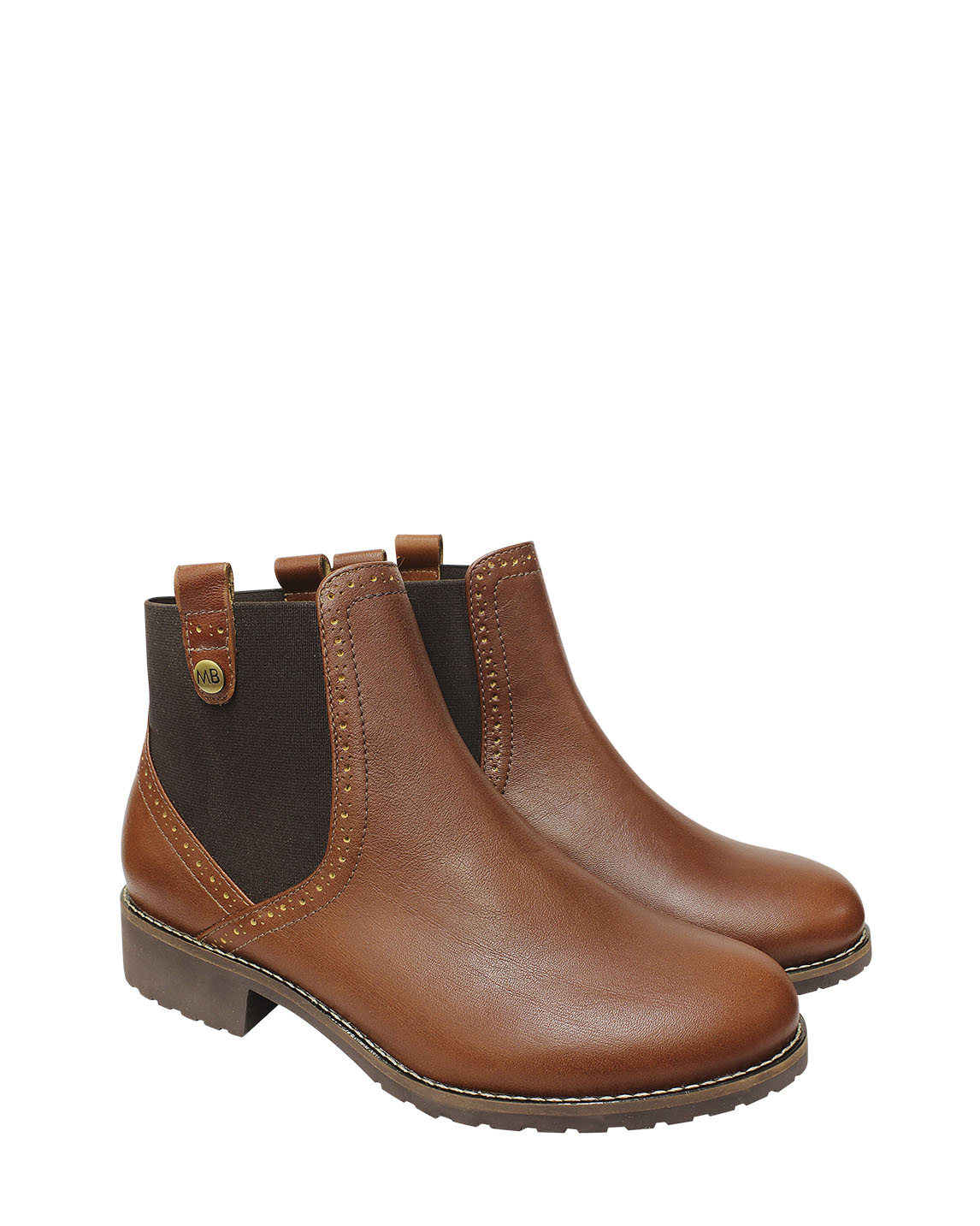 Calzado Botin FBU-7415 Color Natural