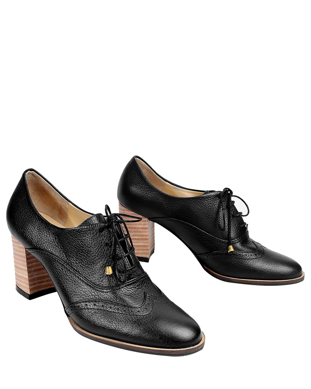 Calzado Derby FD-8171 Color Negro