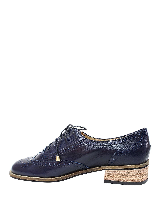 Calzado Derby FD-8919 Color Azul