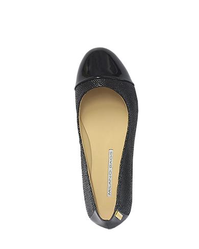 Calzado Flat FM-8322 Color Negro