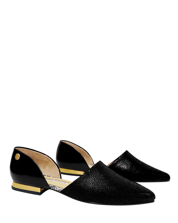 Calzado Flat FPT-8616 Color Negro