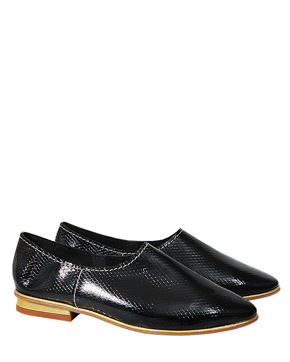 Calzado Flat FR-9002 Color Negro