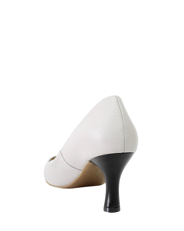 Calzado Peep Toe FR-9000 Color Gris