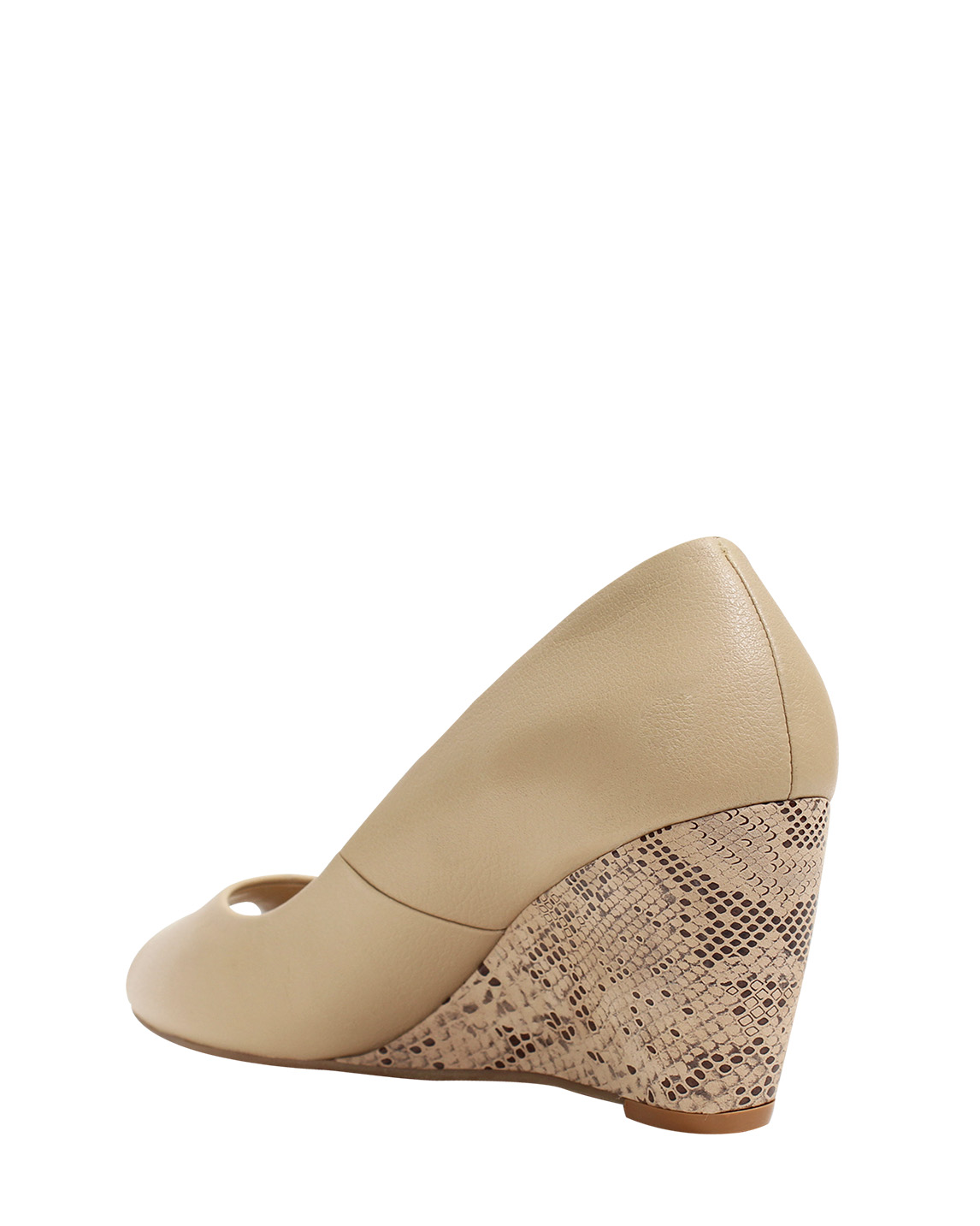 Calzado Peep Toe FRP-7709 Color Beige