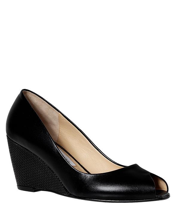 Calzado Peep Toe FRP-7709 Color Negro