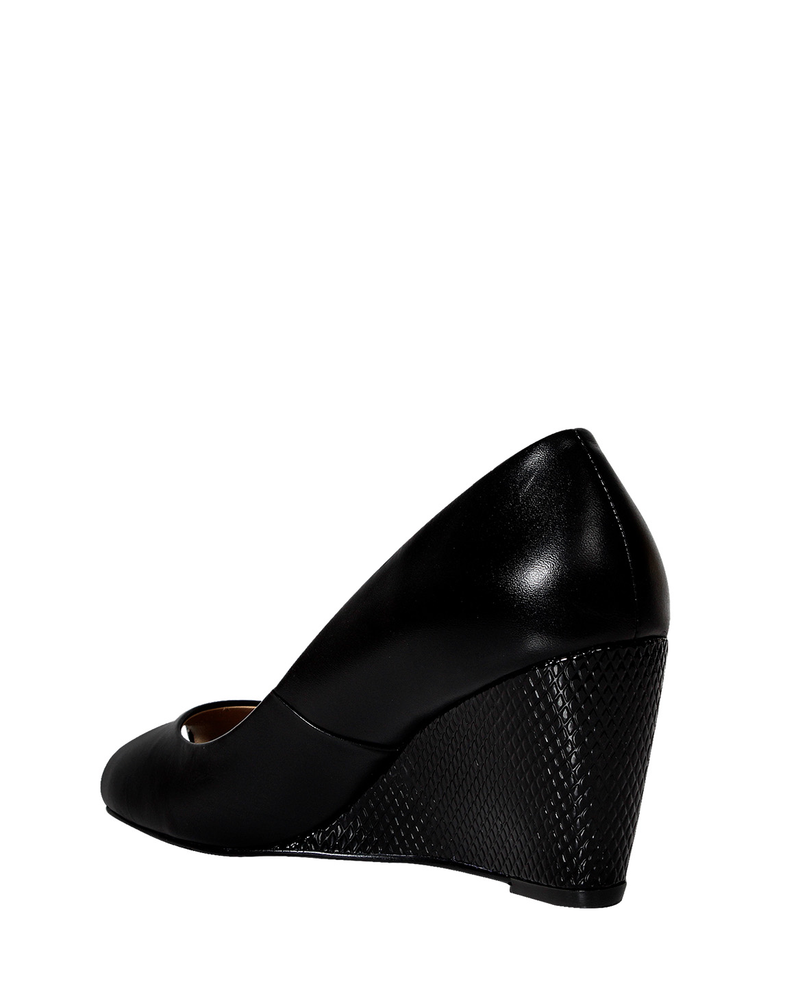 Calzado Peep Toe FRP-7709 Color Negro