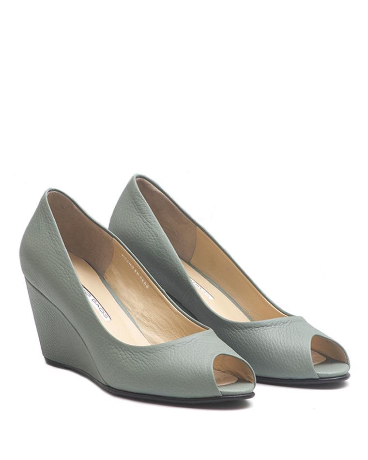 Calzado Peep Toe FRP-7709 Color Verde