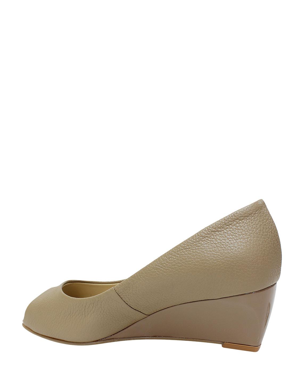Calzado Peep Toe FRP-8724 Color Beige