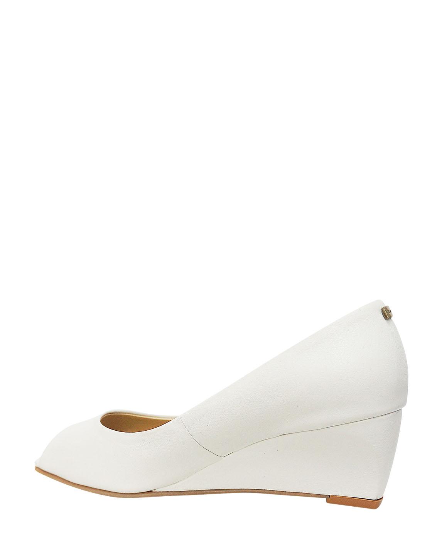 Calzado Peep Toe FRP-8724 Color Blanco