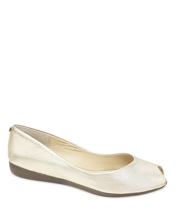 Calzado Peep Toe FRP-8758 Color Oro