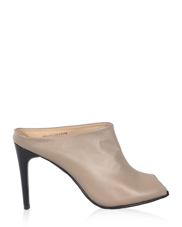 Calzado Peep Toe FS-8027 Color Beige