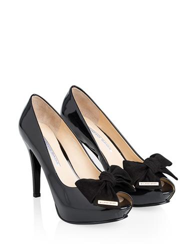 Calzado Peep Toe Plataforma FRP-7243 Color Negro