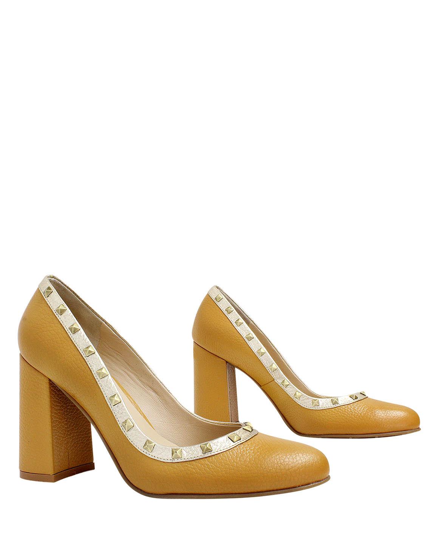 Calzado Reina FR -9014 Color Amarillo