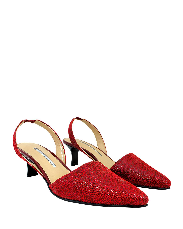 Calzado Reina FRT-8429 Color Rojo